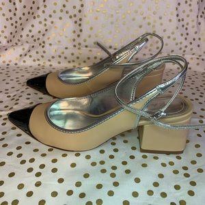 Zara Slingback Block Heels